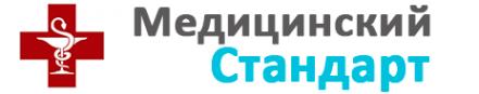 Логотип компании Медицинский стандарт