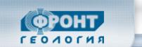 Логотип компании ФРОНТ Геология